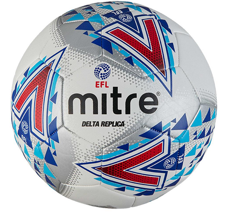 10.99  NEW  Mitre Delta EFL replica ball JUST OUT TODAY  size 5